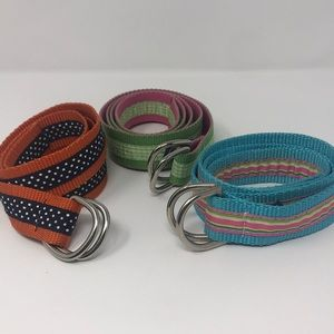 "D-Ring Motif Belts by ""the leather man """